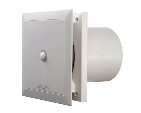 Airflow Quietair Motion Sensor Extractor Fan 120mm