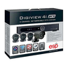 ESP DIGI-VIEW4iPRO Security Camera System Complete