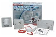 Disabled Persons Toilet Alarm Kit Stainless Steel