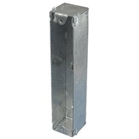 Double Architrave Metal Back Boxes 25mm SBA252A