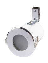 Fire Rated Shower Downlights GU10 Chrome RFS10165GZ-03