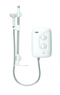 Galaxy Aqua 3000M Electric Shower 8.5Kw White & Chrome 53567001