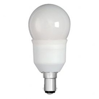 Kosnic Energy Saving Golf Ball Bulbs 7w Small Bayonet Cap KCF07GLF/B15-827