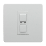 LightwaveRF Remote Control Dimmer White Metal JSJSLW400WH