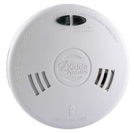 Kidde Mains Fast-Fit Ionisation Smoke Alarms 230v Wireless Capable 1SFW