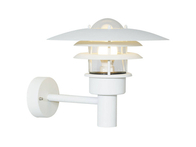 Nordlux Lonstrup 32 Garden Wall Light 60w White 71411001
