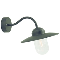 Nordlux Luxembourg Black Garden Wall Light 22671003