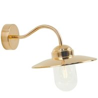 Nordlux Luxembourg Copper Garden Wall Light 22671030
