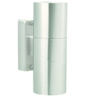 Nordlux Tin Outdoor Stainless Steel Up & Downlighter 21271134