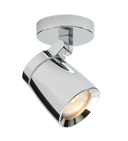 Saxby Knight 39166 single surface fitting Chrome GU10