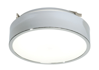 Saxby LIPCO Large Bathroom Ceiling Light 39316 Round Chrome
