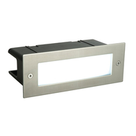 Seina 4.5w Daylight Brick Wall Light Stainless Steel