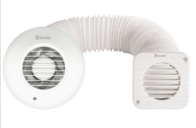 Xpelair Simply Silent SSSFC Shower Fan Kit 93086AW