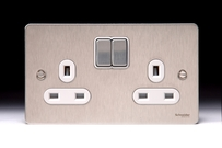 Schneider Electric Schneider Electric Flat Plate Switches & Sockets