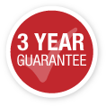 3 Year Guarantee
