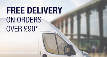 Free delivery on orders over £90