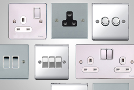 Chrome Switches & Sockets