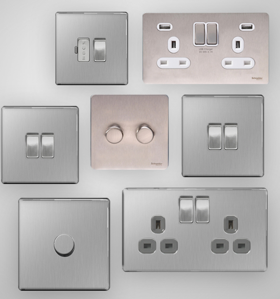 Stainless Steel Switches & Sockets