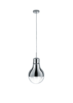 Edison Pendant Chrome with Clear Glass 3041901066