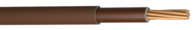 6181Y 25mm Brown Flexible Double Insulated Cable