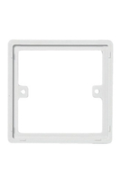 817 - BG Electrical 817 Nexus White Moulded 1 Gang Spacer Plate 10mm