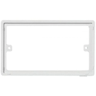 818 - Spacer Plate For Nexus 800 Series Double Plate 10mm - White Plastic