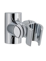Adjustable Fixed Wall Bracket Chrome Model A HJT