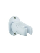 Adjustable Fixed Wall Bracket D White HJ7