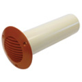 Airflow 100mm Cavity Wall Kit 72643201 Terracotta