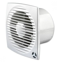 Airflow Aura-eco 100HT Slim Humidity Wall Extractor Fan 100mm 9041349