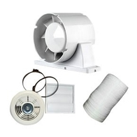 Airflow Aura In-Line Extractor Fan LED Light Kit 100mm 9041421