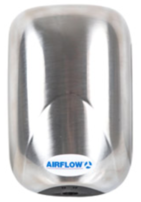 Airflow ecoDRY Mini Satin Chrome Automatic Hand Dryer 90000521
