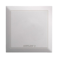 Airflow QuietAir 100mm White Cover 9041318