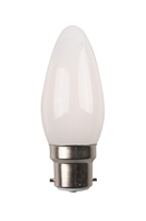 Amitex 4w Dimmable Opal Candle BC - AX572