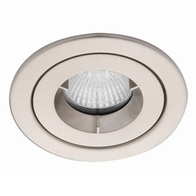 Ansell Lighting Fire Rated Downlight Satin Chrome AMICD/SC
