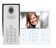 Aperta Colour Video Door Entry Keypad System with Record Facility APKITKPG