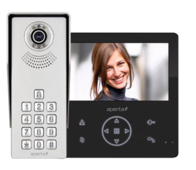 Aperta Colour Video Door Entry Keypad System with Record Facility APKITKPGBLK