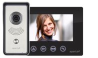 Aperta Colour Video Door Entry System With Black Monitor APKITBLK