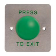 Aperta Push to Exit Mushroom Release Button EVEXITM