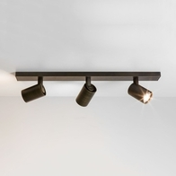 Astro Ascoli Bronze Effect Triple Bar Ceiling Light 6147