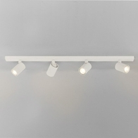 Astro Ascoli White Four Bar Ceiling Light 7843