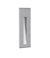 Astro Borgo 43 Brushed Stainless Steel LED Wall Light 7481