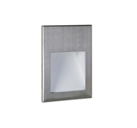 Astro Borgo 54 Brushed Stainless Steel LED Wall Light 7483