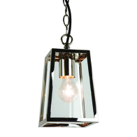 Astro Calvi Polished Nickel Pendant 7113