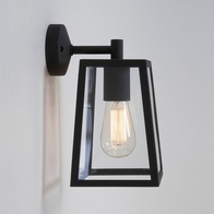 Astro Calvi Textured Black Wall Light 7105