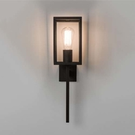 Astro Coach 130 Textured Black Wall Light 7563