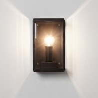 Astro Homefield 130 Textured Black Wall Light 1095013