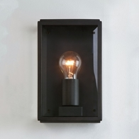 Astro Homefield 160 Matt Black Wall Light 0483