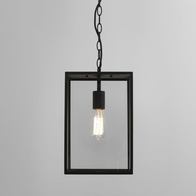 Astro Homefield 360 Black Textured Pendant 7814