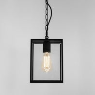 Astro Homefield Black Textured Pendant 1095010